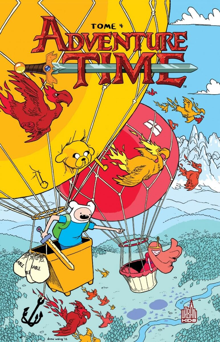 Adventure time tome 4-1