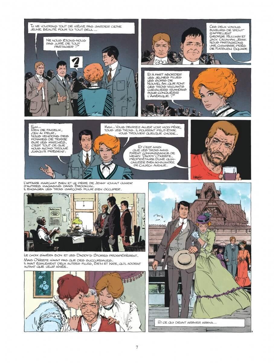 XIII tome 11, Trois Montres d'Argent