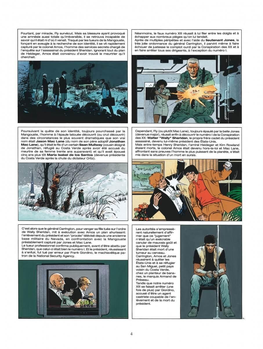 XIII tome 14, Secret Défense