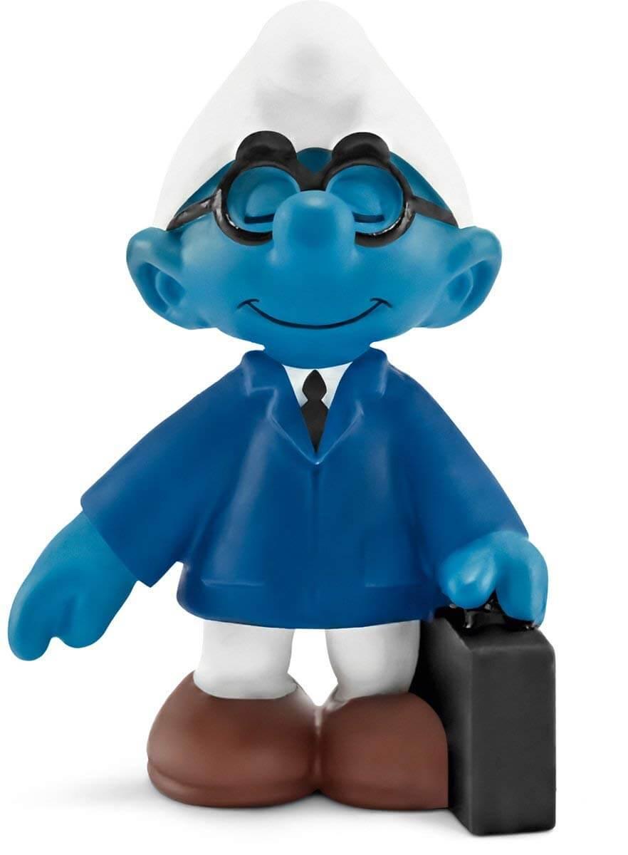 20774 – figurine schleich – schtroumpf commercial vendeur