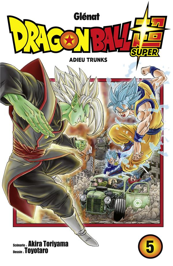 Dragon Ball Super – Akira Torihama – Tome 5 – Adieu Trunks 1-1