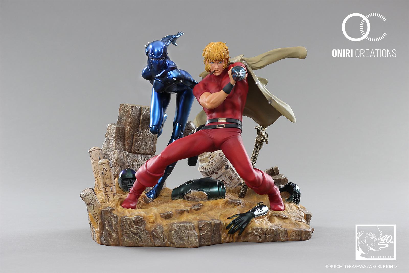 Statue-cobra-the-space-pirate-40th-anniversary-manga 1-1