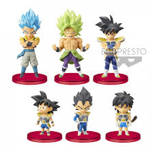 Figurines WCF Dragon Ball Super Broly vol. 3