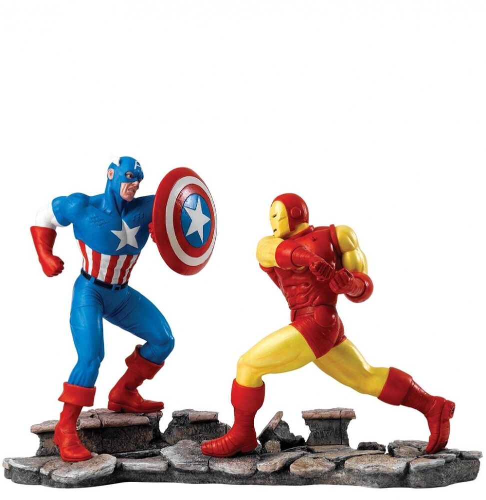 Figurine Marvel – Collectables Captain America VS Iron Man A27605 1-1