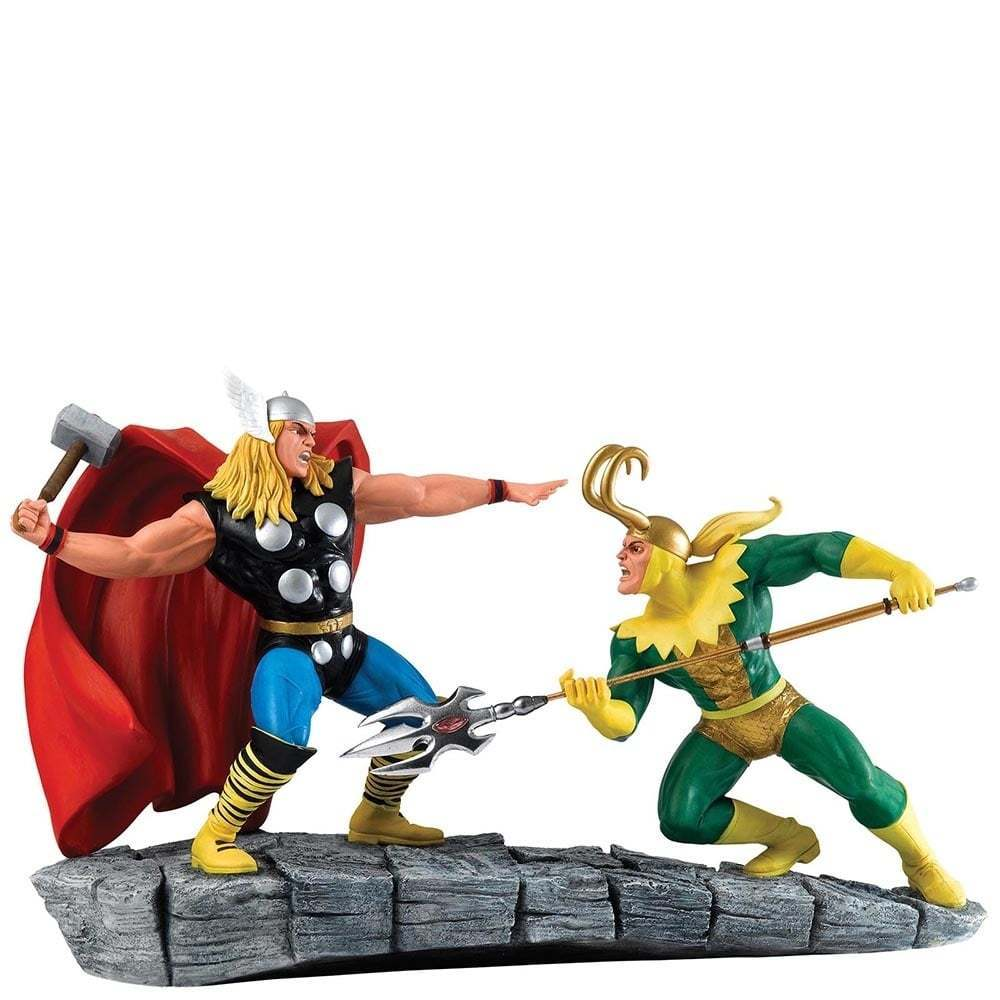 Figurine Marvel – Collectables Thor VS Loki A27607 1-1