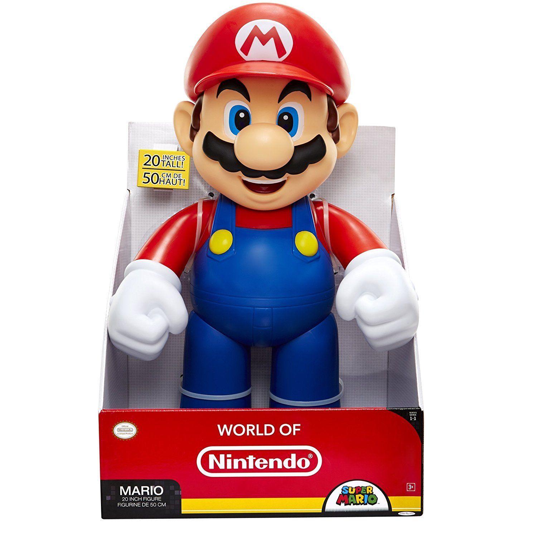 Figurine Super Mario – Mario Big Size 50 cm World of Nintendo 1-1