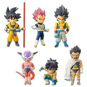 Figurines WCF Dragon Ball Super Broly vol. 1